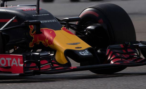 Red Bullin viime kauden autossa ei ollut reikää keulassa.