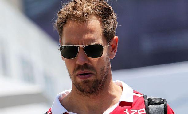 Sebastian Vettel oli Bakun GP:n pahis.