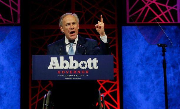 Lakimuutosta ajanut osavaltion kuvernööri Greg Abbott perustelee kantaansa elämän pyhyydellä.