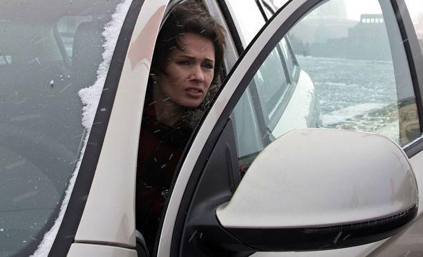 Olga Medvedtseva loukkaantui auto-onnettomuudessa.