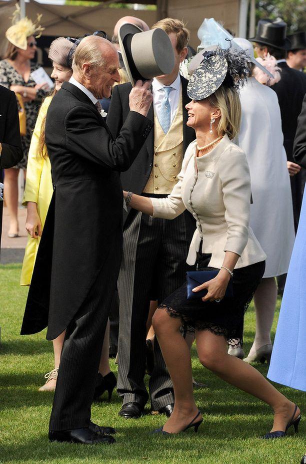 Prince Philip, Edinburghin herttua ja Charlotte Stanley, Derbyn kreivitär.