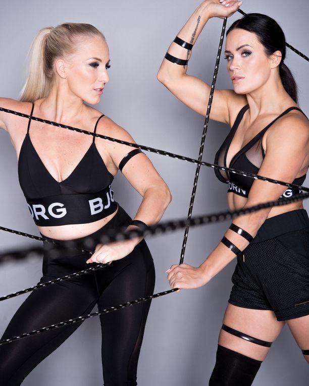 Nanna Karalahti ja Martina Aitolehti tarjoavat yhdessä urheiluvalmennuksia.
