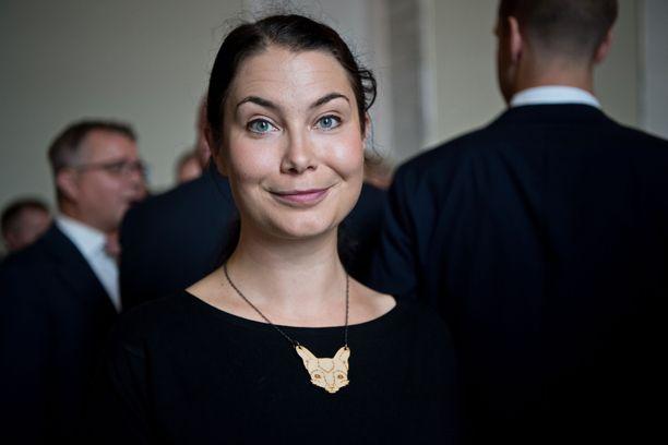 Kansanedustaja Emma Kari oli ehdolla vihreiden puheenjohtajaksi 2017, mutta Touko Aalto voitti kisan.