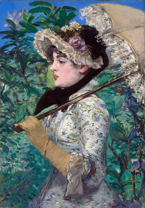 Edouard Manet, Le Printemps.