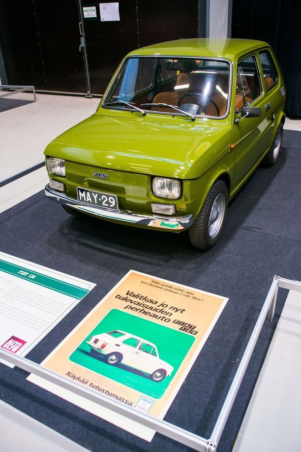 Fiat 126 on kaikin puolin pieni, kuin kutistettu auto.