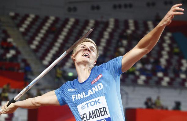 Oliver Helanderin MM-kisa oli kolmen karsintaheiton kokoinen.