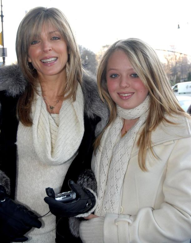 Marla Maples ja Tiffany Trump New Yorkissa vuonna 2006.