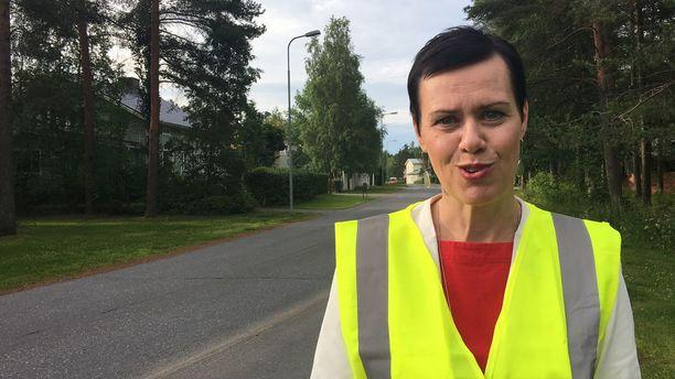Demarit turvasivat koululaisten ensimmäistä koulumatkaa torstaina Oulussa.