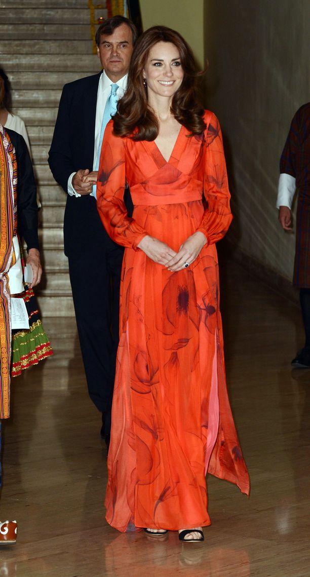 Catherine edusti Beulahin asussa Bhutanissa vuonna 2016.
