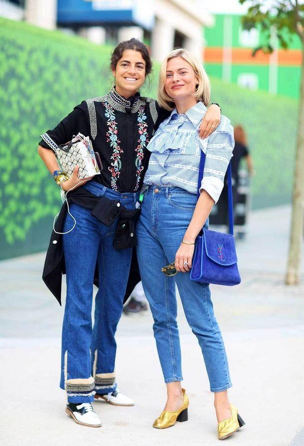 Leandra Medine ja Pandora Sykes