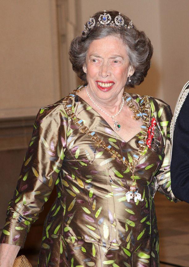 Tanskan prinsessa Elisabeth kuningatar Margareeta II:n syntymäpäiväjuhlillla tammikuussa 2012.