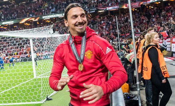 Manchester United on julkaissut harvinaisen haastattelun Zlatan Ibrahimovicista. Kuvassa Zlatan Tukholmassa toukokuussa 2017.
