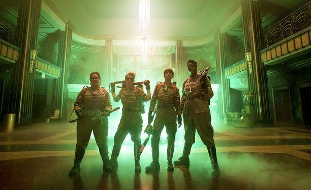 Ghostbustersin naisnelikko herätti ihastusta elokuvan tullessa teattereihin.