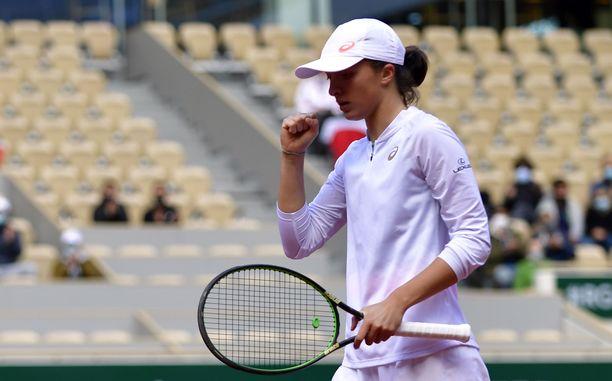 Iga Swiatek pelasi vakuuttavalla tasolla läpi turnauksen.