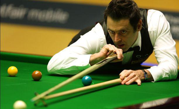 Ronnie O'Sullivan otti omansa Mastersissa.