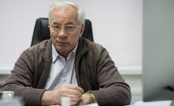 Nikolai Azarov haluaa Ukrainaan hallituksen, jossa olisi myös Itä-Ukrainan kapina-alueiden edustajia.