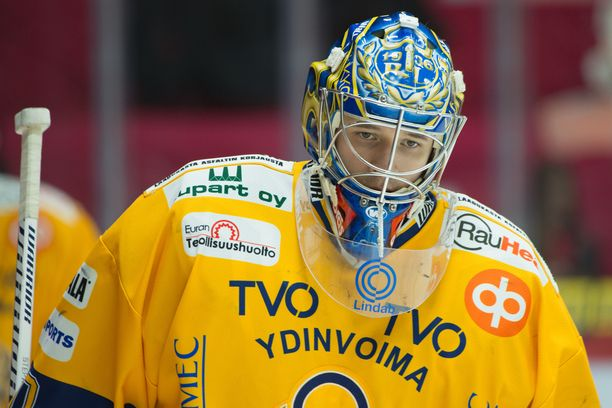 Jakub Stepanek torjui Lukon maalilla kaudella 2017-17.