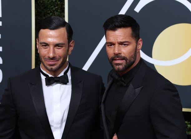 Pariskunta saapui yhdessä viime viikonloppuna Golden Globe -gaalaan.