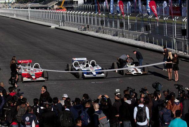 Autódromo Hermanos Rodríguez vihittiin uudelleen käyttöön lokakuun alussa.