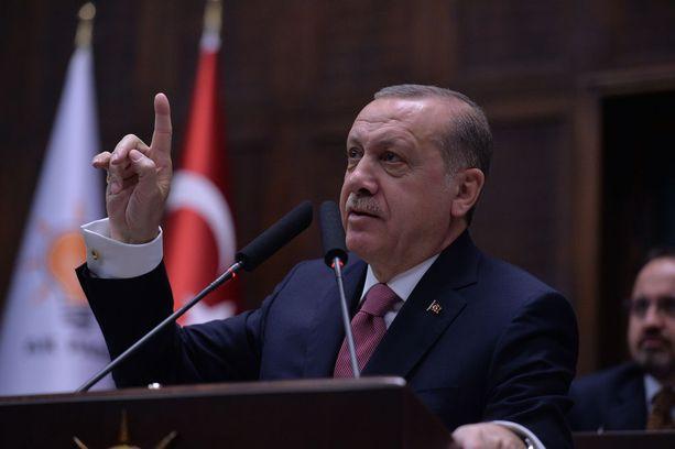 Presidentti Erdogan on vaatinut seksuaalirikollisille kovempia rangaistuksia.