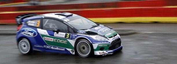 Jari-Matti Latvala on ajanut tällä kaudella Fordilla.