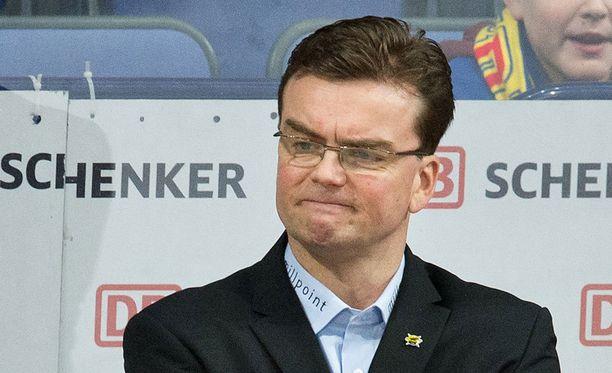 Pekka Tirkkosen SaiPa on valahtanut hyvän alun jälkeen kymmenenneksi.