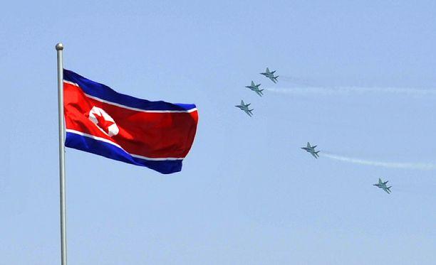 Pohjois-Korean kerrotaan tehneen jälleen ohjuskokeen.