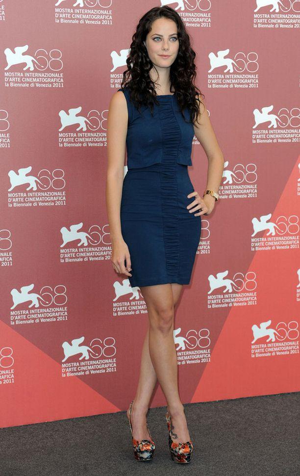 Skins-kaunottaren Kaya Scodelarion roolihahmon Effyn tyyli on näyttelijän omaa tyyliä rockimpi.