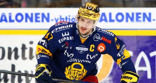 Justin Danforth jättää Rauman Lukon ja siirtyy KHL:ään.