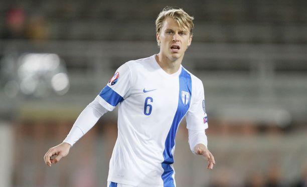 Rasmus Schüller palaa maajoukkueeseen.