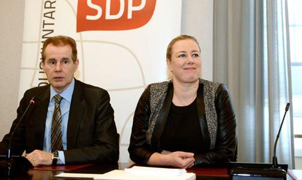 SDP päätti tänään ministerisalkun jakamisesta.