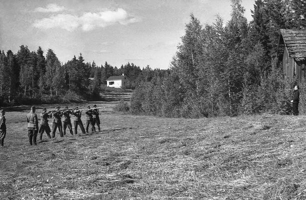 Desantin kuolemantuomio jatkosodassa heinäkuussa 1941.