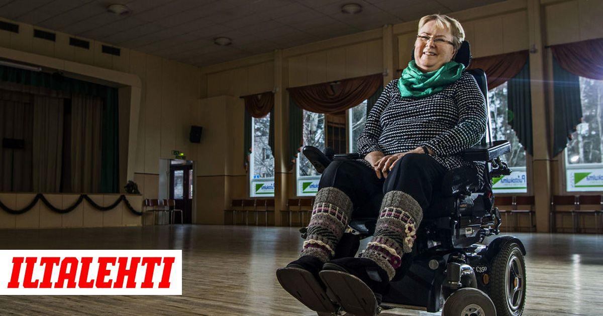 Sirkka, 68, sairastaa kuolemaan johtavaa ALS-tautia