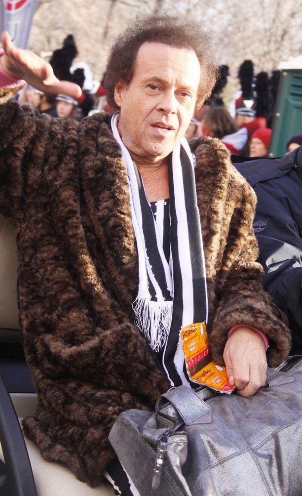 Richard Simmons vetäytyi julkisuudesta yli kaksi vuotta sitten. Kuva marraskuulta 2013.