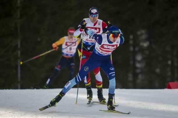 Ilkka Herola on ollut tämän talven paras hiihtäjä yhdistetyn maailmancupissa.