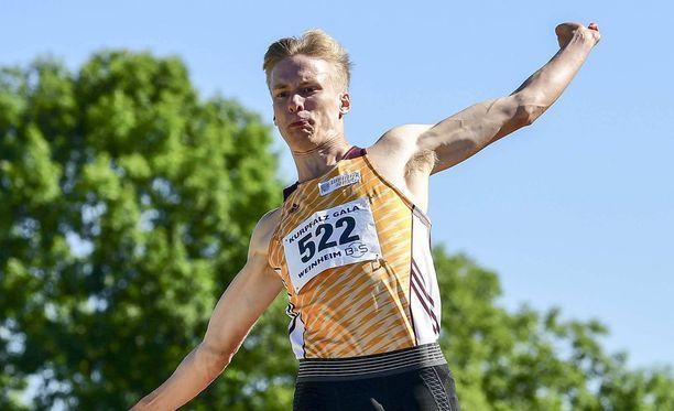 Kristian Pulli leiskautti oman ennätyksensä Sierra Nevadassa.