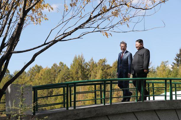 Koreoiden johtajat tapasivat syyskuussa kolmannen kerran.