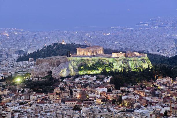 Kreikassa on nähtävä Ateenan Akropolis.