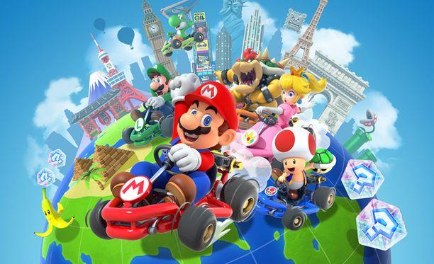 Nintendon ajopeli Mario Kart Tour saapuu pian puhelimille.