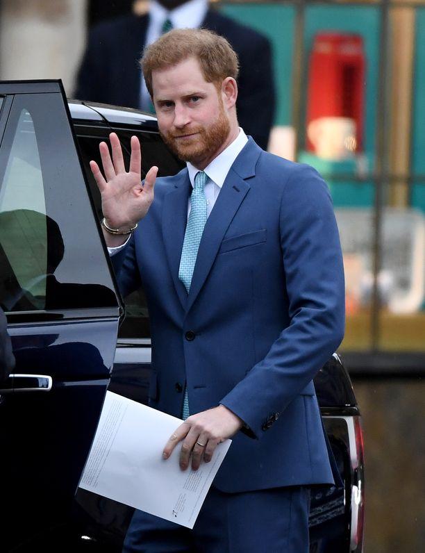 Prinssi Harryn otaksutaan suuntaavan lähiviikkoina Britanniaan.
