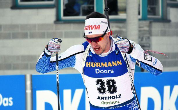 Olli Hiidensalo pääsi mukaan sunnuntain MM-takaa-ajoon.