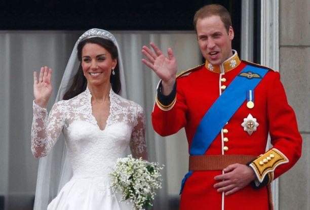 Koko maailma seurasi Catherinen ja Williamin häitä.