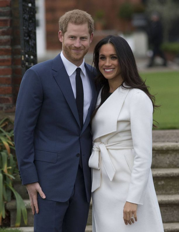 Kihlaparin häitä vietetään toukokuussa 2018.