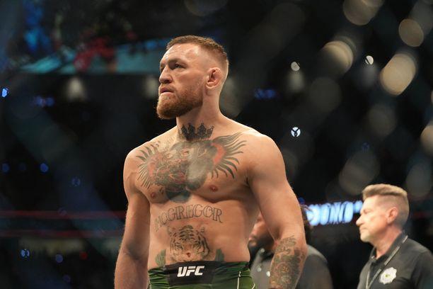 Conor McGregor on UFC:n tunnetuin ottelija.