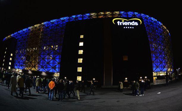 Friends Arenalla nähtiin eilen traaginen kuolema.