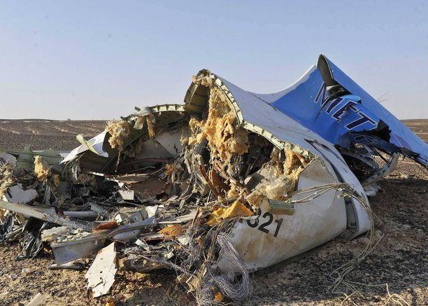Järkyttävä lentoturma vaati 224 ihmisen hengen 31. lokakuuta 2015.