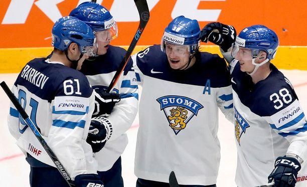 Suomi kukisti Valko-Venäjän MM-avauksessaan maalein 6-2.