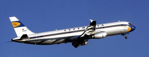 Merkelin uusi kone on Airbus 321.