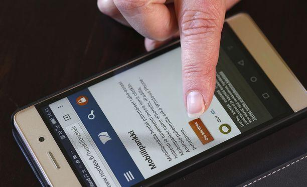 Nordean palveluissa oli häiriö, joka esti kirjautumisen mobiilipankkiin. Kuvituskuva.