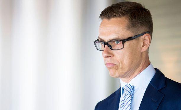 Alexander Stubb valittiin kokoomuksen puheenjohtajaksi kesällä 2014.